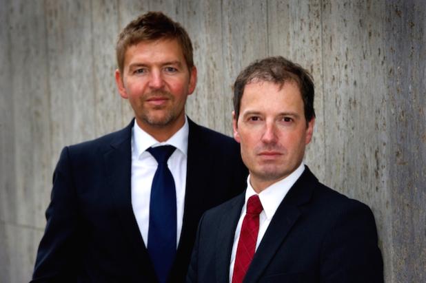 (Fotonachweis: © ML Gruppe) (v.l.n.r.): Frank Hoffritz (Geschäftsführer ML), Stefan Klopp (Geschäftsführer ML)