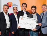 Vier Studierende gewinnen 50.000 Euro für ihr Start-up