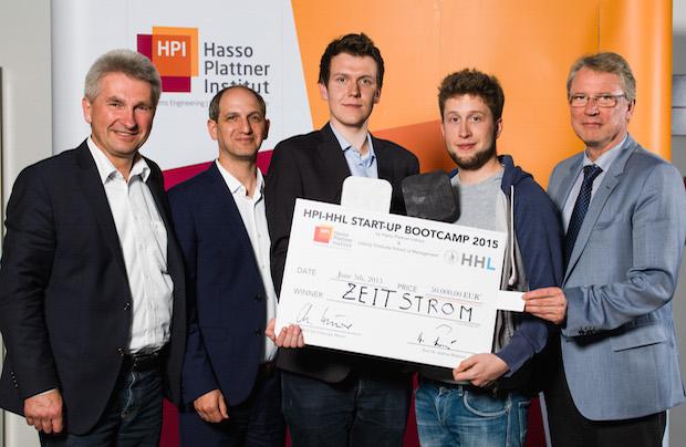 Bild von Vier Studierende gewinnen 50.000 Euro für ihr Start-up