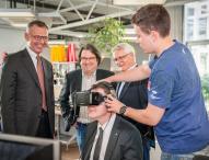 IHK-Präsident Dirk von Vopelius besucht hl-studios