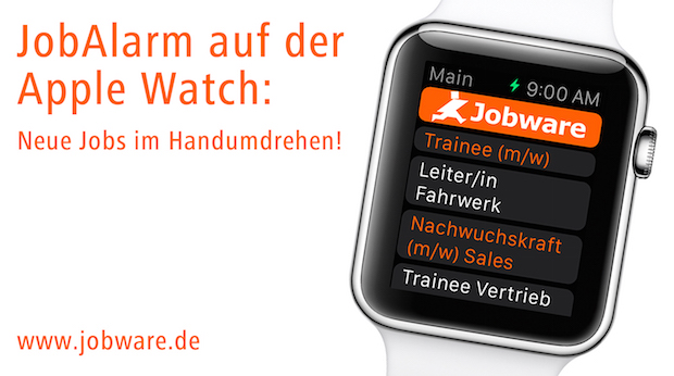 Photo of JobAlarm auf der Apple Watch