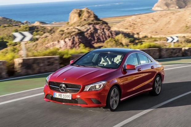 Bild von Verkaufsbestwerte für Kompaktwagen und SUVs von Mercedes-Benz