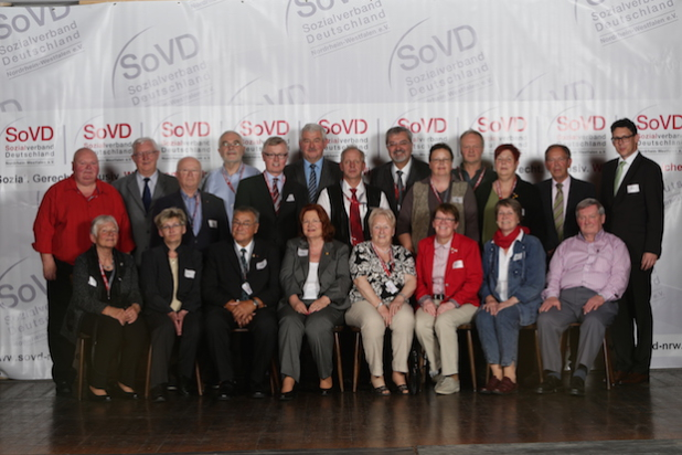Gruppenfoto: Raphael Sprenger - Quelle: SoVD Nordrhein-Westfalen e.V.