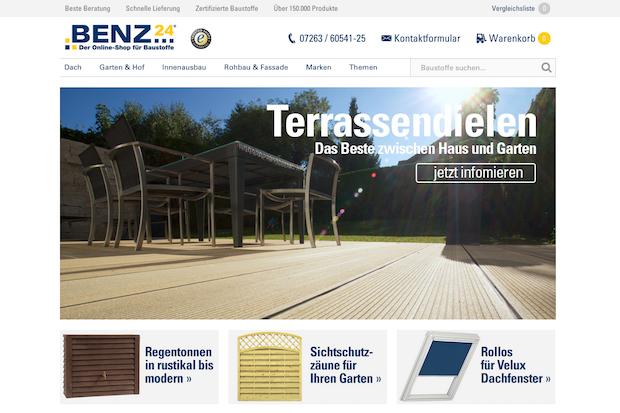 Bild von Der Online-Shop für Baustoffe als Vorreiter im E-Commerce