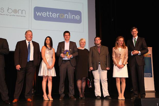 """Bild von WetterOnline gewinnt regionalen Unternehmerpreis """"Ludwig 2015"""""""