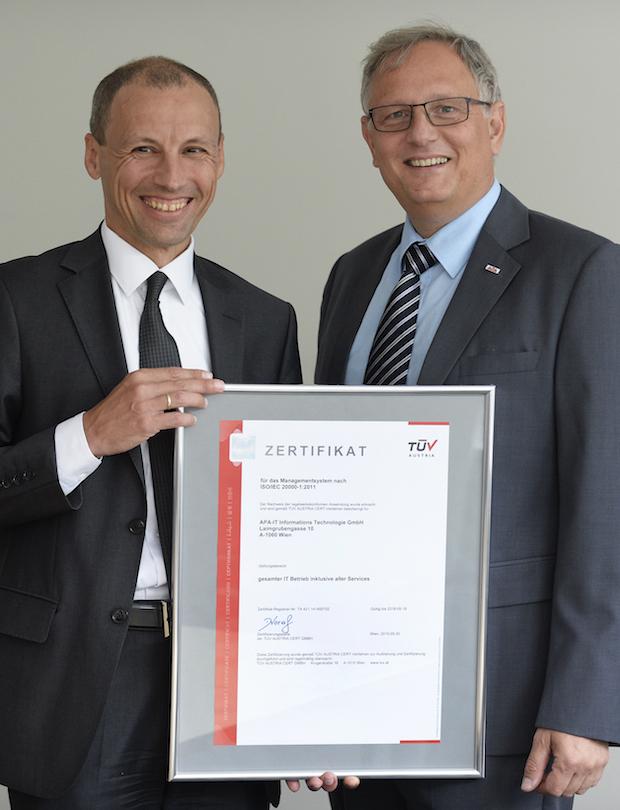 Photo of Rechenzentren der APA-IT jetzt mit ISO-Zertifizierung