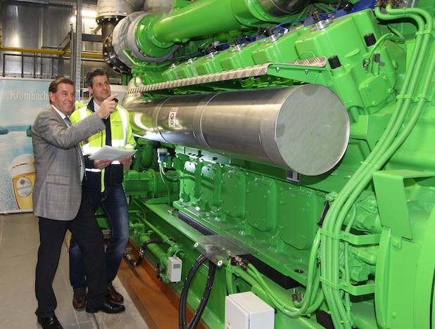 Photo of Krombacher Brauerei nimmt Kraft-Wärme-Kopplungs-Anlage in Betrieb