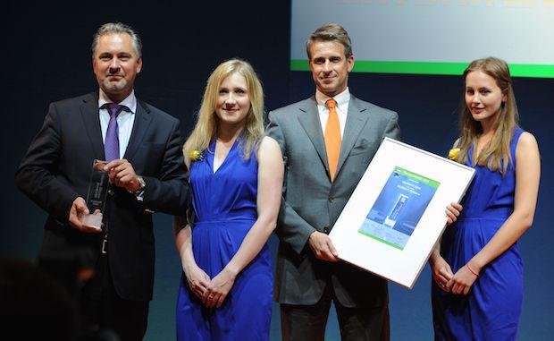 """Bild von SOLARWATT GmbH gewinnt """"ees Award 2015"""""""