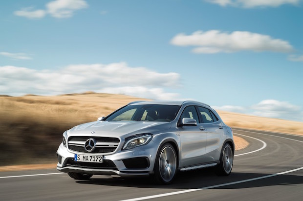 Bild von Neue kompakte Mercedes-AMG Modelle ab sofort bestellbar