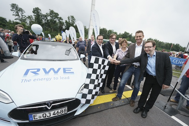 Bild von RWE feiert erfolgreiche Go & See Tour 2015