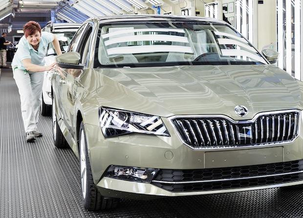Bild von Werksferien: SKODA AUTO optimiert und erweitert Produktionsanlagen