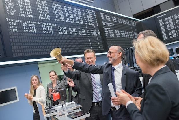 Photo of KSB-Vorstände eröffnen Börsenhandel