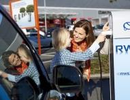 Elektromobilität: RWE feiert 700.000sten Ladevorgang