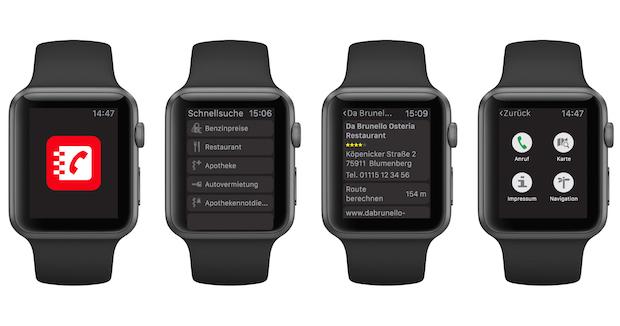 Bild von Das Telefonbuch präsentiert neue App für die Apple Watch