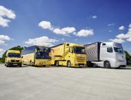 Daimler bringt neue Sicherheitstechnologien in allen Nutzfahrzeug-Sparten