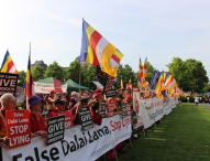 Die Demonstrationen der International Shugden Community