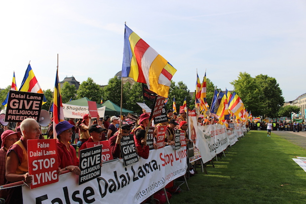 Photo of Die Demonstrationen der International Shugden Community