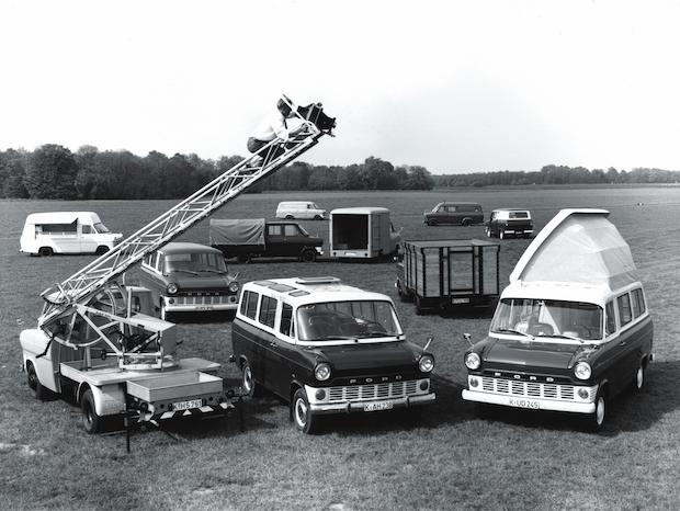 Bild von Ford Transit – seit 50 Jahre im Dienst
