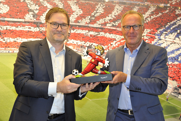 Photo of Platinum Partner des FC Bayern München