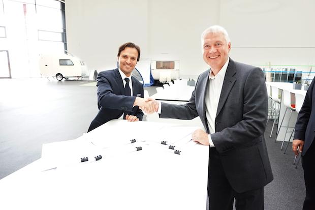 Photo of Die Erwin Hymer Group gibt eine Vereinbarung bekannt: