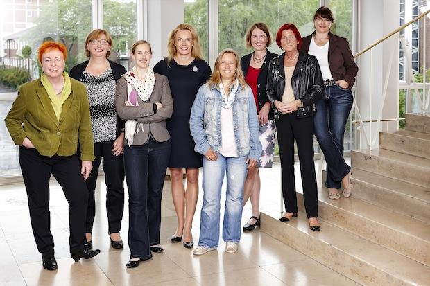 Frauenbusinesstag 2015 Orgateam Quelle: IHK Köln