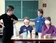 Schulprojekt informiert über das Leben von Milchkühen
