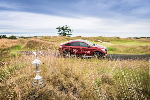 Photo of Mercedes-Benz beim ältesten Golfturnier der Welt