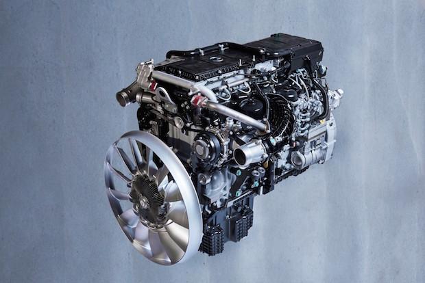 Bild von Mercedes-Benz Lkw präsentiert neueste Motorengeneration