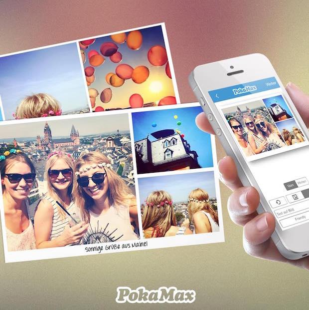 Bild von PokaMax Postkarten-App für den Urlaub