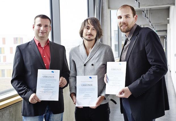 Photo of Preis des Hochschulrats der Hochschule Mainz verliehen