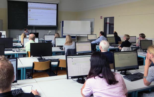 Photo of 1. Tag der digitalen Lehre der Hochschule Fresenius