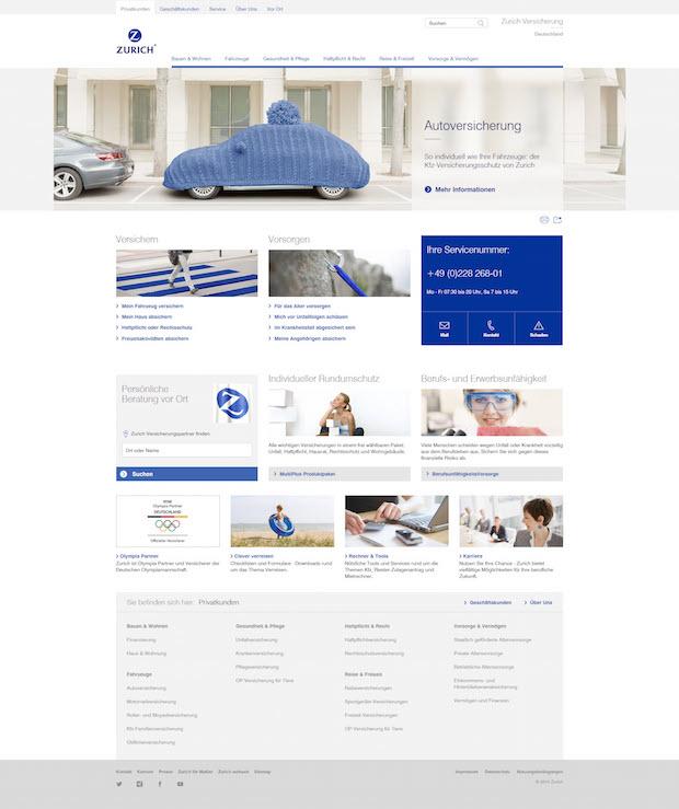 Photo of Zurich Versicherung präsentiert sich mit neuem Internetauftritt