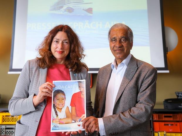 Bild von Klimaforscher Mojib Latif würdigt Vorreiterrolle von AIDA beim Klimaschutz