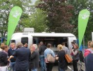 Studierender macht sich mit veganem Food Truck selbstständig