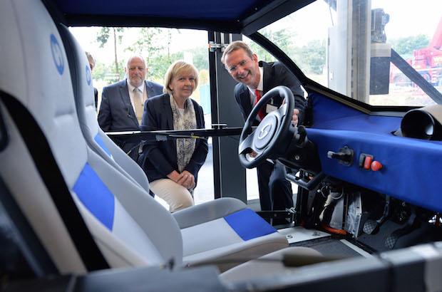 Bild von NRW-Ministerpräsidentin Hannelore Kraft zu Gast auf dem RWTH Aachen Campus