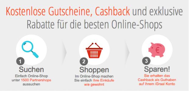 Photo of Beim Shoppen Geld verdienen – Französisches Unternehmen iGraal bringt das Erfolgskonzept Cashback nach Deutschland