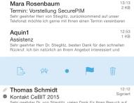 Virtual Solution AG launcht SecurePIM 6 für iOS