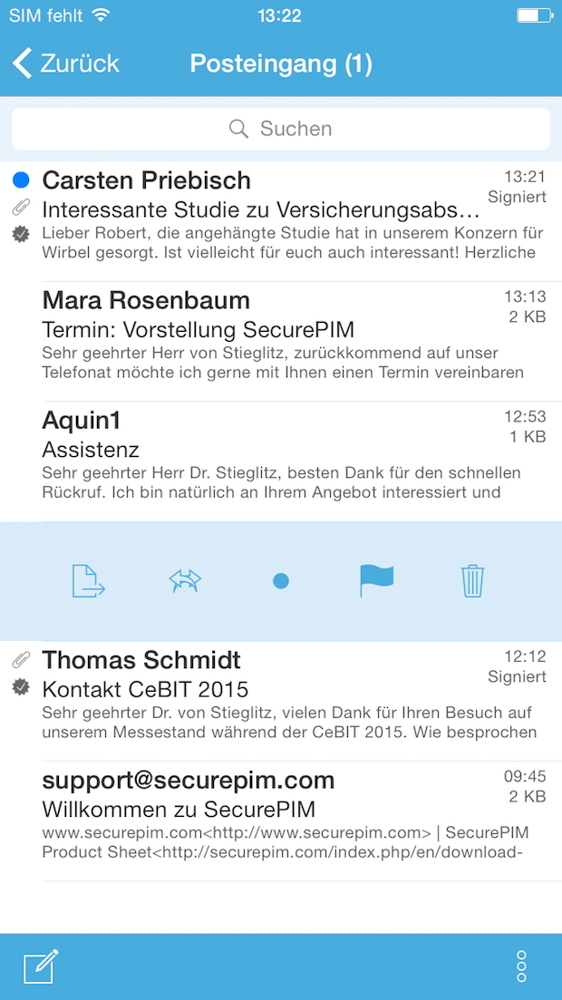 Bild von Virtual Solution AG launcht SecurePIM 6 für iOS