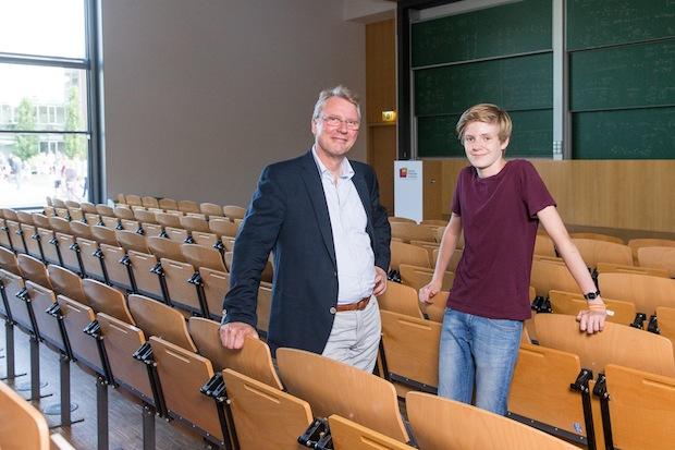 Photo of Mit 14 Jahren jüngster Student Deutschlands: Informatik-Crack geht ans Potsdamer Hasso-Plattner-Institut