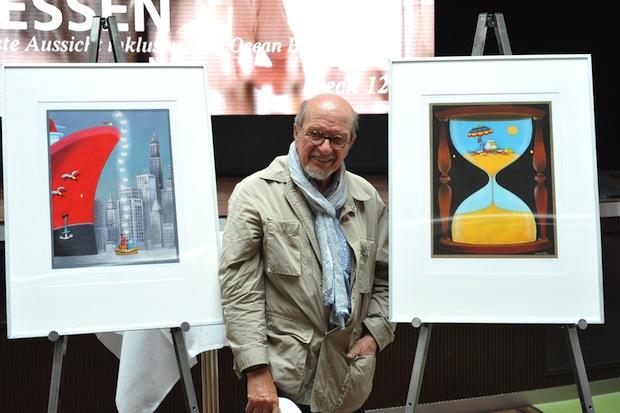 Photo of Internationales Kunstevent mit Cartoonist Mordillo auf AIDAsol