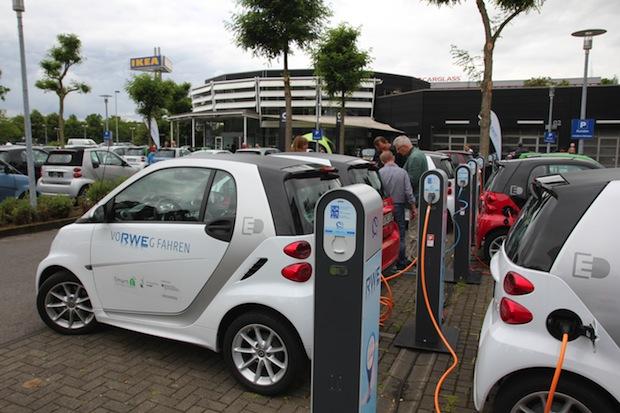 Bild von Projekt eMERGE: Elektrofahrzeuge intelligent regenerativ betanken