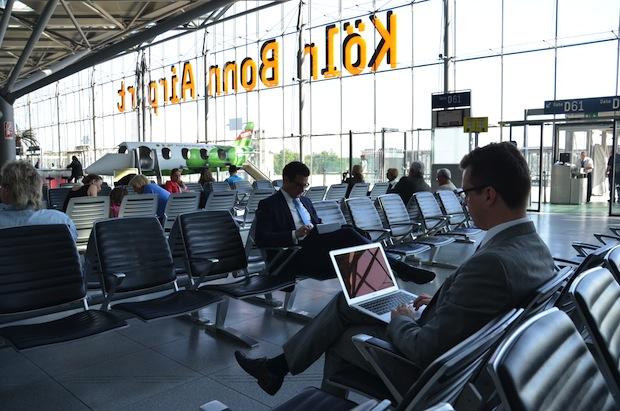 """Quellenangabe: """"obs/Flughafen Köln/Bonn GmbH/Köln Bonn Airport"""""""