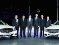 Daimler feiert zehn Jahre lokale Produktion von Personenwagen