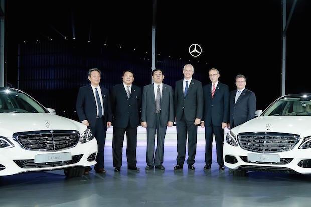Bild von Daimler feiert zehn Jahre lokale Produktion von Personenwagen