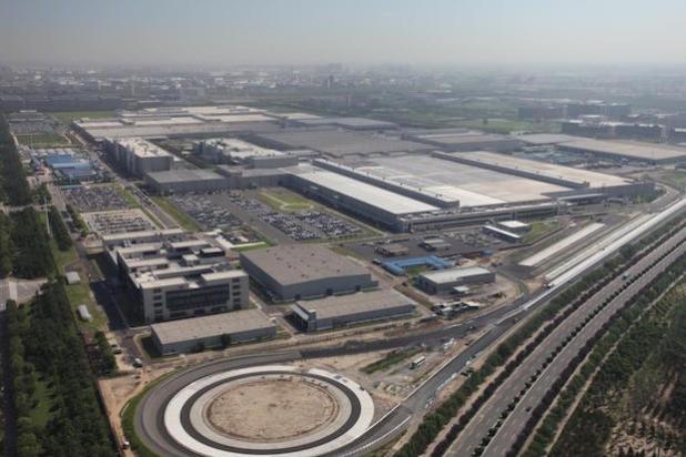 Vogelperspektive von BBAC - Quelle: Daimler AG