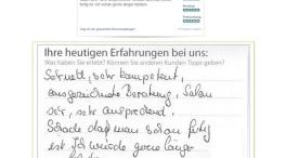 Meinungsmeister zeigt Original-Kundenempfehlungen online an