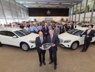 ADAC übernimmt 76 Mercedes-Benz GLA für Fahrsicherheits-Trainings