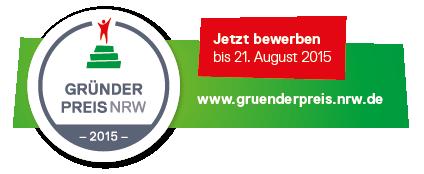 Photo of Jetzt noch bis zum 21. August für den GRÜNDERPREIS NRW 2015 bewerben!