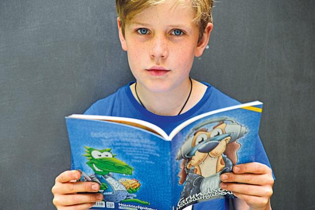 Photo of Vielseitige Aufgaben-Häffte für Grundschüler