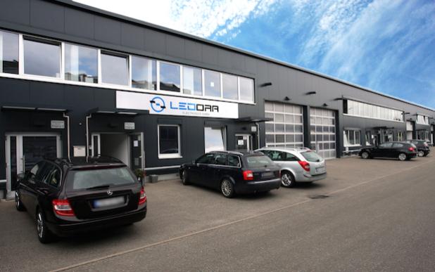 Am neuen Standort im Rottenburger Gewerbepark Siebenlinden verfügt LEDORA Electronics über die notwendigen Flächen, um die Produktion weiter auszubauen. Foto: LEDORA